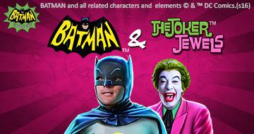 Batman & The Joker Jewels