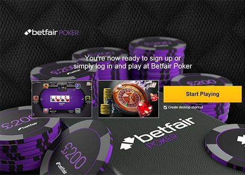Accessing Betfair Poker for Mac